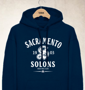 Sacramento Solons Clubhouse Vintage Hoody