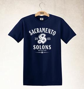 Sacramento Solons Clubhouse Vintage T-Shirt