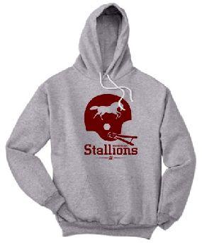 Birmingham Stallions Helmet Hoody