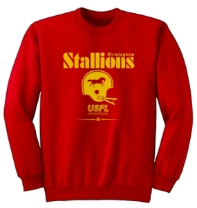 USFL Birmingham Stallions Locker Crew