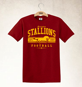 Birmingham Stallions Logo Tee