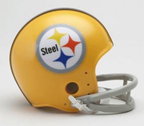 1962 Pittsburgh Steelers Throwback Mini Helmet