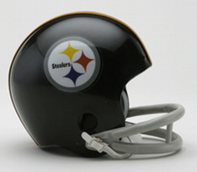 1963-1976 Pittsburgh Steelers Throwback Mini Helmet