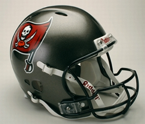 Tampa Bay Buccaneers Full Size Revolution Helmet