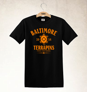Baltimore Terrapins Clubhouse Vintage T-Shirt