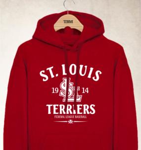 St. Louis Terriers Clubhouse Vintage Hoody
