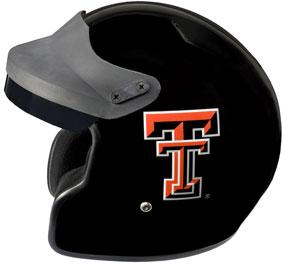 Texas Tech Red Raiders Motorcycle Helmet