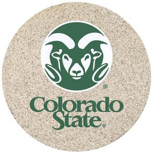 Thirstystone Colorado State Rams Collegiate Coasters