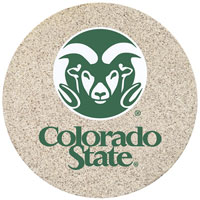Thirstystone Colorado State Rams Collegiate Coasters