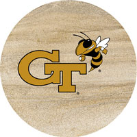 Thirstystone Georgia Tech Yellow Jackets Collegiate Coasters