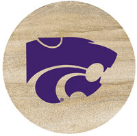 Thirstystone Kansas State Wildcats Collegiate Coasters