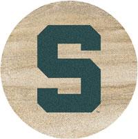Thirstystone Michigan State Spartans Collegiate Coasters