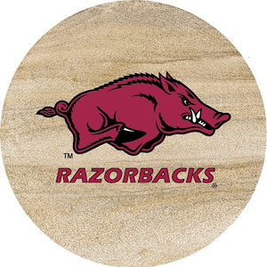 Thirstystone Arkansas Razorbacks Collegiate Coasters