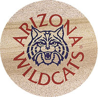Thirstystone Arizona Wildcats Collegiate Coasters