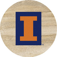 Thirstystone Illinois Fighting Illini Collegiate Coasters