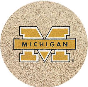 Thirstystone Michigan Wolverines Collegiate Coasters