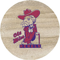 Thirstystone Mississippi Rebels Collegiate Coasters