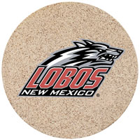 Thirstystone New Mexico Lobos Collegiate Coasters