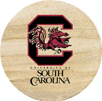 Thirstystone South Carolina Gamecocks Collegiate Coasters