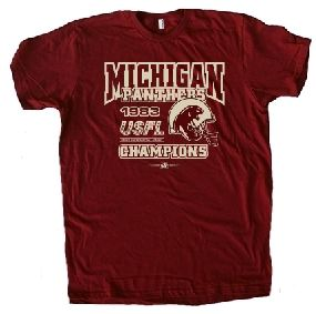 Michigan Panthers '83 USFL Champs Tee