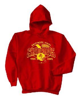 Baltimore Stars '85 USFL Champs Hoody