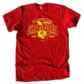 Baltimore Stars '85 USFL Champs Tee