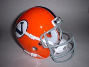 1968 Virginia Cavaliers Throwback Mini Helmet