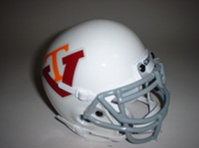 1974 Virgina Tech Hokies Throwback Mini Helmet