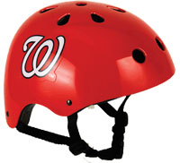 Washington Nationals Multi-Sport Bike Helmet