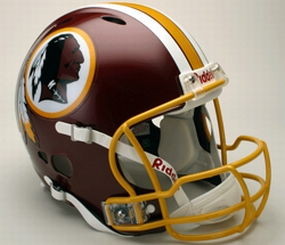 Washington Redskins Full Size Revolution Helmet