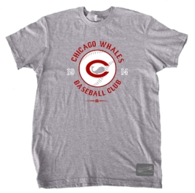 Chicago Whales 1914 Vintage T-Shirt
