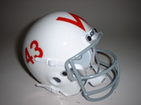 1961 Wisconsin Badgers Throwback Mini Helmet
