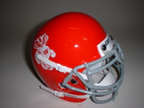 1969 Wisconsin Badgers Throwback Mini Helmet