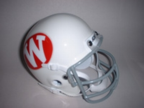 1972 Wisconsin Badgers Throwback Mini Helmet