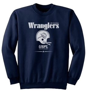 USFL Arizona Wranglers Locker Crew
