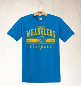 Arizona Wranglers Logo Tee
