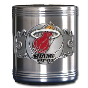 Miami Heat Can Cooler