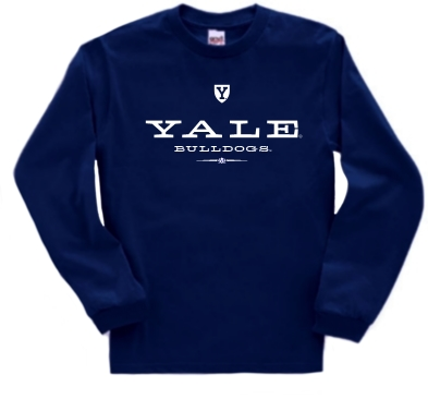 Yale Bulldogs The Commons Long Sleeve Tee