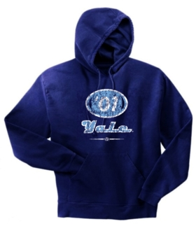 Yale Bulldogs '01  Hoody