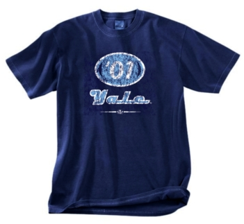 Yale Bulldogs '01  Tee