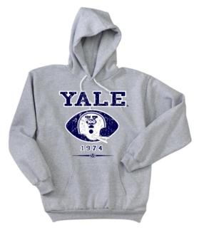 Yale Bulldogs '74 Helmet Hoody
