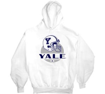 Yale Bulldogs Modern Helmet Hoody