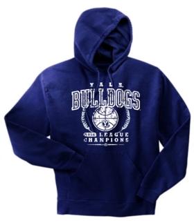 Yale Bulldogs '56 Basketball Champs Hoody