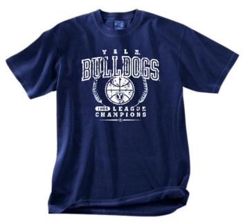 Yale Bulldogs '56 Basketball Champs Tee
