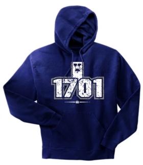 Yale Bulldogs 1701 Hoody