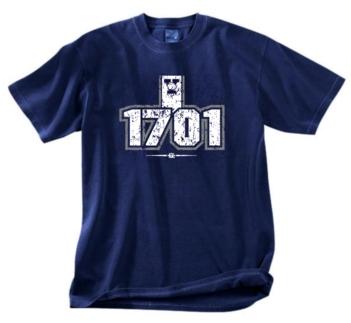 Yale Bulldogs 1701 Tee