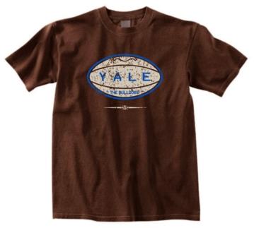 Yale Bulldogs Pigskin Tee