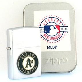 Oakland A's Zippo Lighter