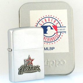 Houston Astros Zippo Lighter