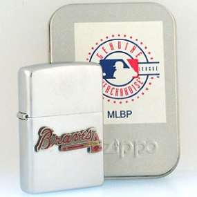 Atlanta Braves Zippo Lighter